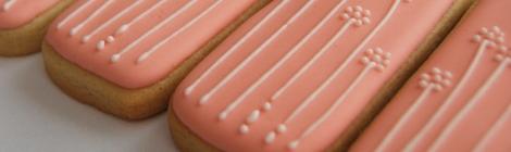 Flores primavera rosas en galletas decoradas chicuqui.com