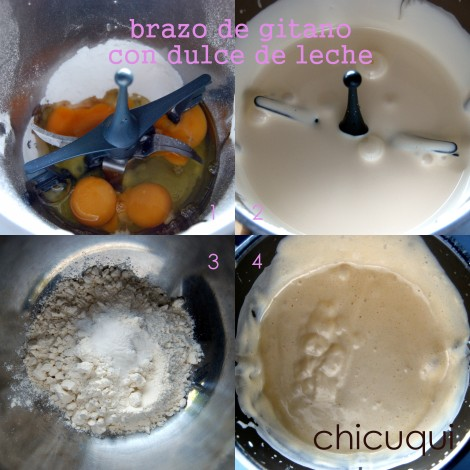 receta de brazo de gitano con dulce de leche en galletas decoradas chicuqui.com
