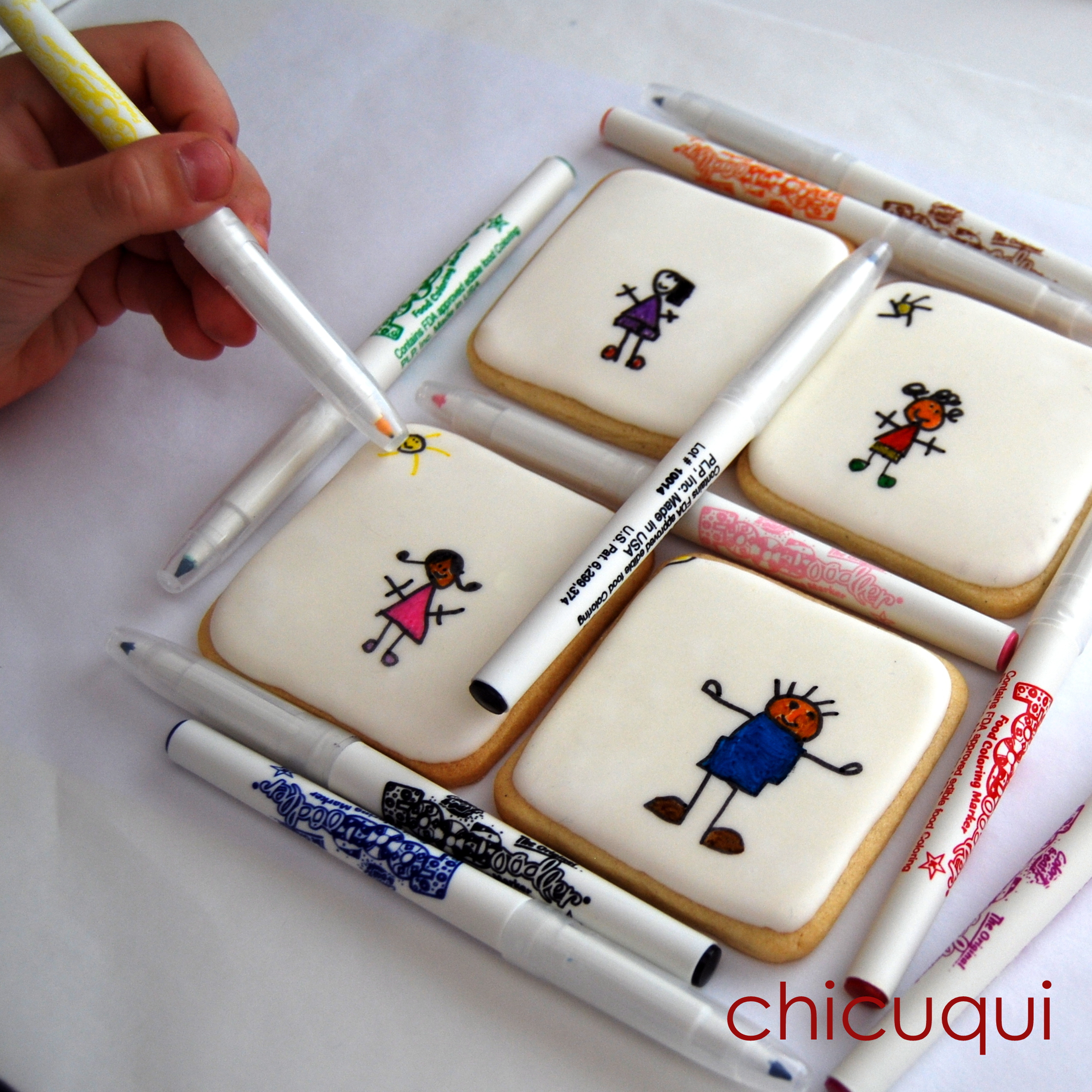 C mo hacer galletas decoradas con ni os divertid simas for Ideas faciles decoracion
