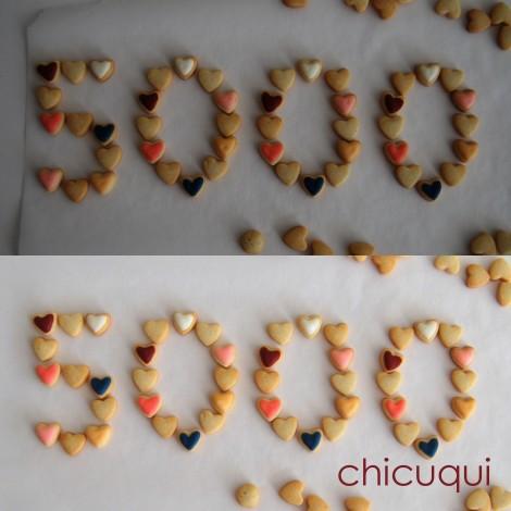 corazones galletas decoradas 5000 likes chicuqui.com