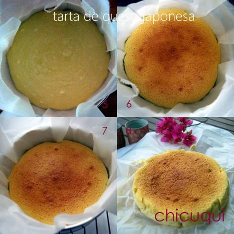 Receta de tarta de queso japonesa chicuqui.com