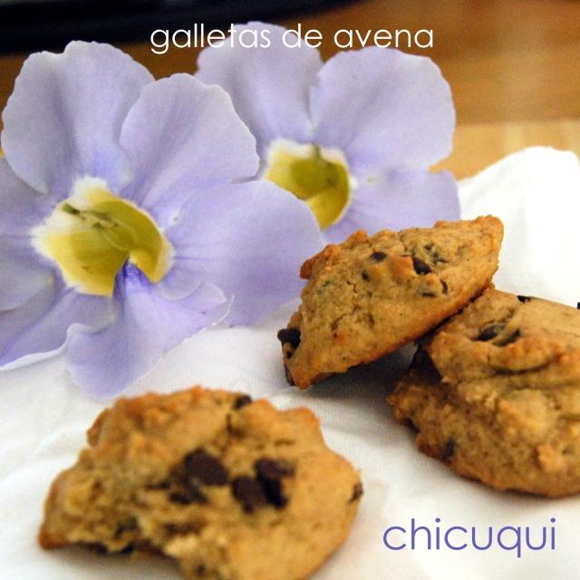 receta galletas de avena en galletas decoradas chicuqui.com