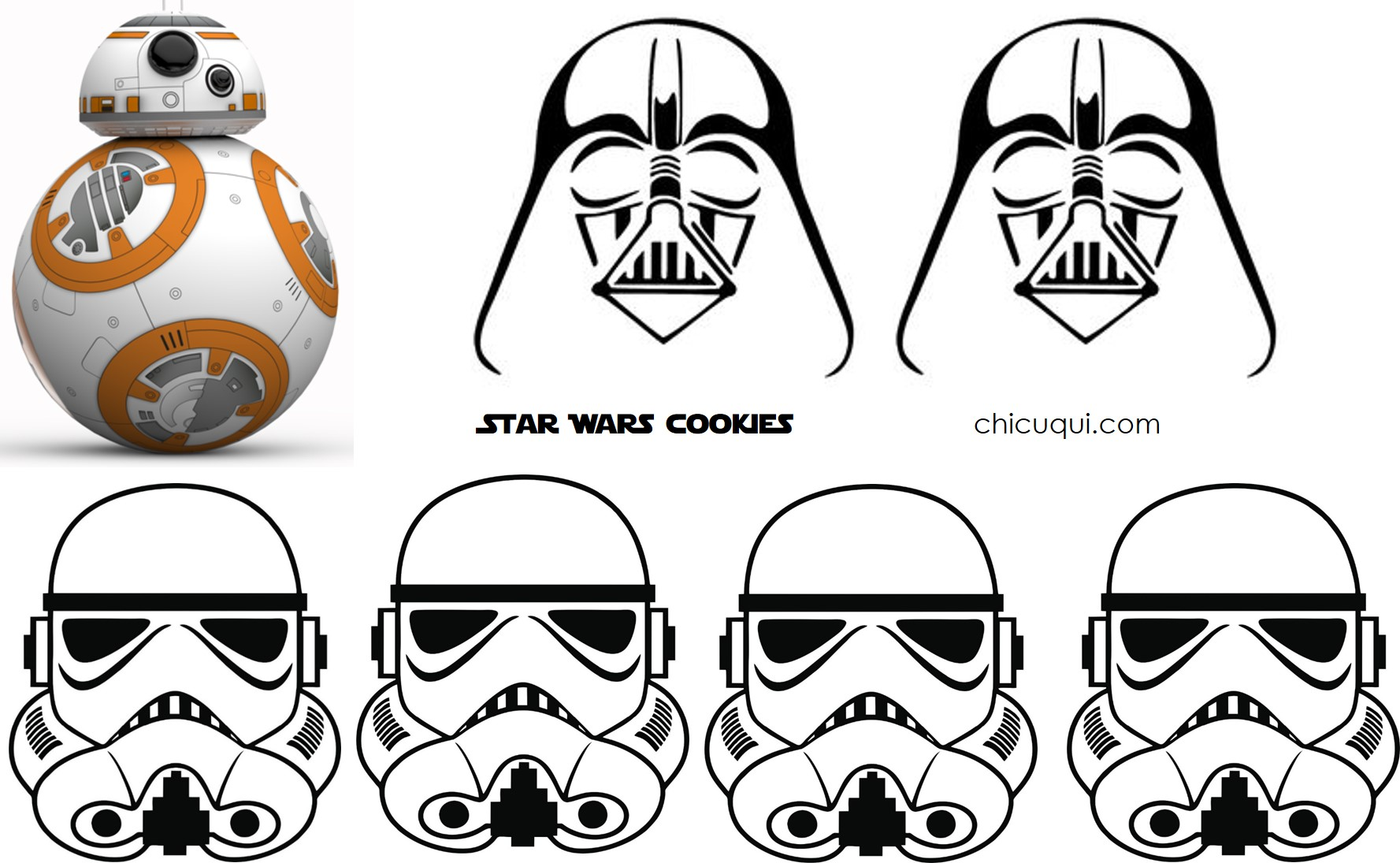 Star Wars cookies | chicuqui