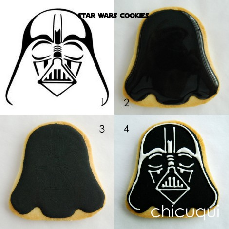 star wars cookies galletas decoradas chicuqui.com