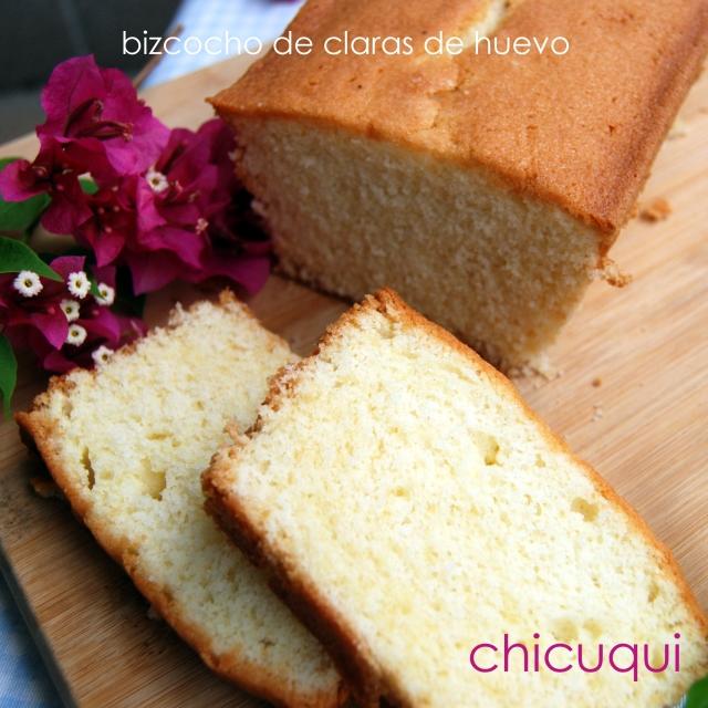 receta de bizcocho con claras de huevo en galletas decoradas chicuqui.com